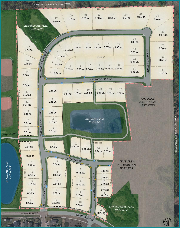 New Lot Map Estates